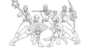 Perfect Power Rangers Coloring Page Pages Games Free Printable Kids