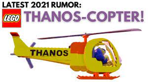 We're Getting a LEGO THANOS-COPTER ...