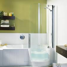 Amazing Twin Line Walk In Bathtub And Shower Combouniversal Design Style In  Walk In Bathtub Shower Combo ...
