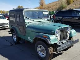 1974 Jeep Cj 5 In Co Denver South J4f835th64084 For