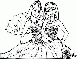 Barbie Princess And The Popstar Coloring Pages 567035