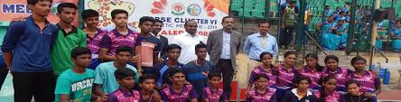 ii position in cbse cer vi athletic overall championship