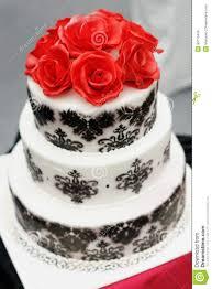 Delicious Black And White Wedding Cake Stock Photo Image Of Detail