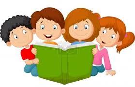 Vektor Kreslené děti čtení knihy #63519645   fotobanka Fotky&Foto