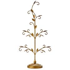 Hallmark Family Tree Photo Display Stand Gold Miniature Display Tree Keepsake Ornaments Hallmark 62