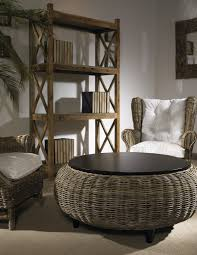 full size of tables chairs round seagrass coffee table ottoman natural finish matching rattan