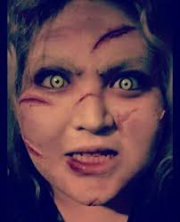 what a wonderful day for an exorcism face 4 of 31 faces of the exorcist hairfacesmakeupwhoville hairmake