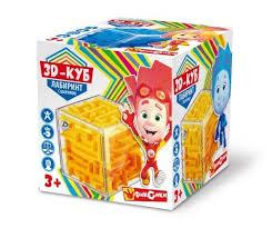 <b>Головоломка Играем вместе</b> 3D-<b>куб</b> Лабиринт с шариком ...