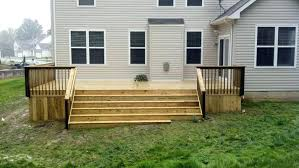 build a deck on a slope how to build outdoor stairs on a slope outdoor designs build a deck