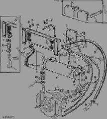 hydraulic oil reservoir oil cooler [26] tractor john deere 2155 John Deere Sabre Wiring Diagram list of spare parts