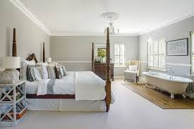 before embracing the bath in bedroom look there are some practical issues to consider primarily the problem of combining a bathtub with a carpeted floor