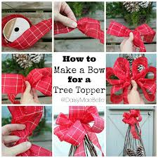 How to Make a Bow for a Christmas Tree