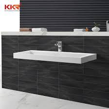 artificial stone solid surface bathroom