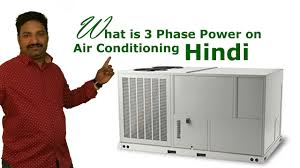 3 phase air conditioning wiring hindi youtube Single Phase Motor Winding Diagram at 3 Phase Air Conditioner Wiring Diagram