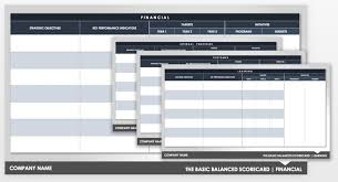 Score Card Template Balanced Scorecard Examples And Templates Smartsheet
