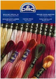 Dmc Stranded Cotton Embroidery Thread Colour Chart Colour