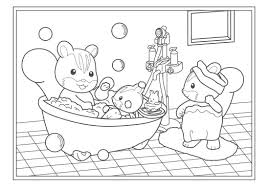Little Critter Coloring Pages Sylvanian Familys 11 In Calico