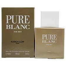 Buy <b>Karen Low Pure</b> Blanc Eau De Toilette Spray for Men 3.4 Ounce ...
