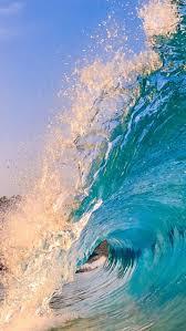 Ocean Wave Background Sea Water Ocean Wave Background Tropical Wet Marine Background