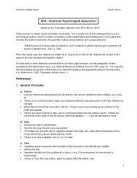 Apa Para Apa Citation Style Cambrian College