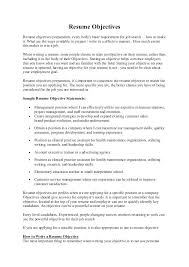 Ideas Collection Objectives For Resumes Customer Service Nice Work