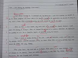 word essay sample