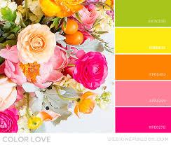 Color Love Bright Green Yellow Orange Pink Designer Blogs