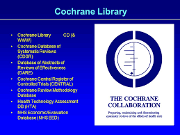 SEARCHING EVIDENCE THROUGH THE COCHRANE LIBRARY prepared by     YouTube FIGURE   Flow Diagram of the Selection Procedure CDSR   Cochrane Database of Systematic Reviews  CCRT   Cochrane Central Register of Controlled Trials