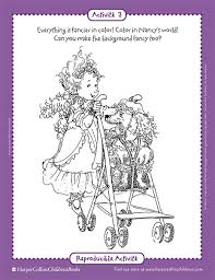 Small Picture Perfect Fancy Nancy Coloring Pages 81 In Download Coloring Pages