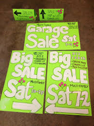 Yard Sale Signs Ideas Garage Sale Signs Group With 67 Items