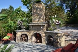 let minks outdoor professionals create a unique and handcrafted fireplace for your outdoor space these unique handcrafted outdoor fireplaces are sure to