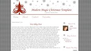 christmas blog templates archives bd web studio modern magic christmas template