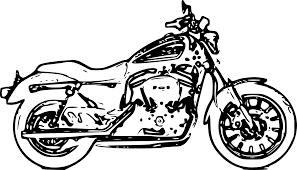 Imprimer V Hicules Moto Harley Davidson Num Ro 256423