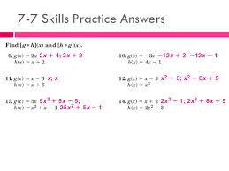 3 7 7 skills practice answers