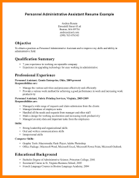 Objective Examples For A Resume 100 administrative assistant objectives examples time table chart 71