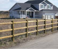 wood rail fence. Brilliant Fence Our 5 Star Round Rail Fence Is Made Of Treated Southern Yellow Pine  Southern Pine The Best Wood For Retaining Lifeextending Chemicals From  Inside Wood Rail Fence