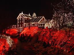 Clifton Mill Christmas Lights Pin By Saundra Rohn On Many Shades Of Red Christmas Lights