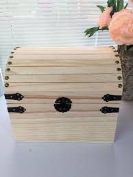 trunk box unfinished wooden chest chest memory box card box storage chest treasure chest storage box dyi from 9milessouth on studio