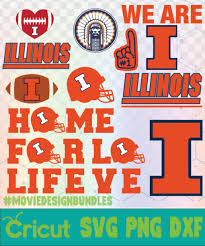 Are you searching for christmas tree png images or vector? Illinois Fighting Illini Football Ncaa Logo Svg Png Dxf Movie Design Bundles