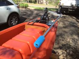 electric fishing kayak steering bar 01