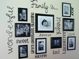 Creative Collage Picture Frames For Wall Decoration Ideas: Family Collage  Picture Frames For Wall Decoration