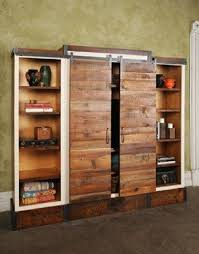 bookcase with sliding doors sliding door entertainment cabinet reclaimed wood bookcase bookcase sliding glass doors