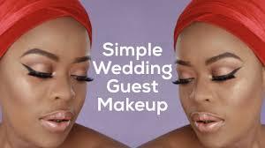 simple wedding guest makeup tutorial nelo okeke