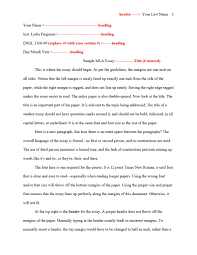 Research Paper Mla Template Formatting A Research Paper