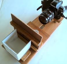 picture of how to digitize slides and negatives with a dslr