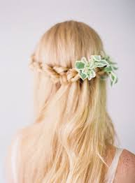 Half Up Half Down Wedding Hairstyles For Every Type Of Bride Brides