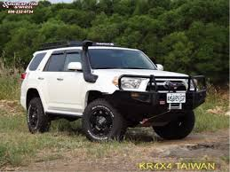 Toyota 4Runner XD Series XD775 Rockstar Wheels Matte Black