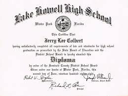 document lake howell high school diploma thu jun  soowtv f i i2 certifies f i at ijaumg satisfattorilg complctcb all requtrmenis