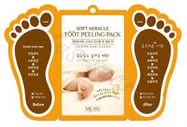 <b>Пилинг для ног MJ</b> Care Soft Miracle Foot Peeling Pack купить в ...