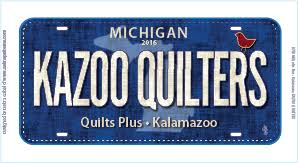 Row by Row Collectibles & View Large Image · Kazoo Quilters Fabric License Plate Adamdwight.com